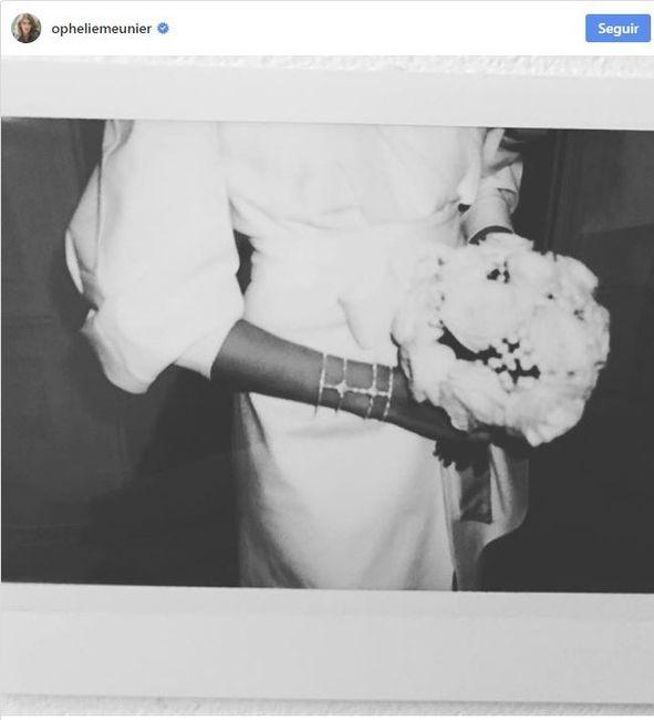 Ophélie Meunier s'est mariée, que pensez-vous de sa robe ? 2
