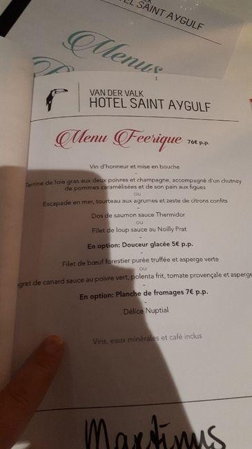 Choix menu 2