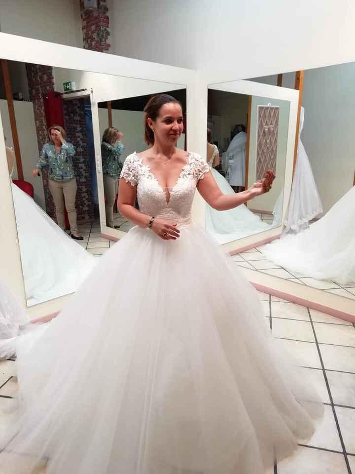 Ma robe de mariée est prête 😍 - 1