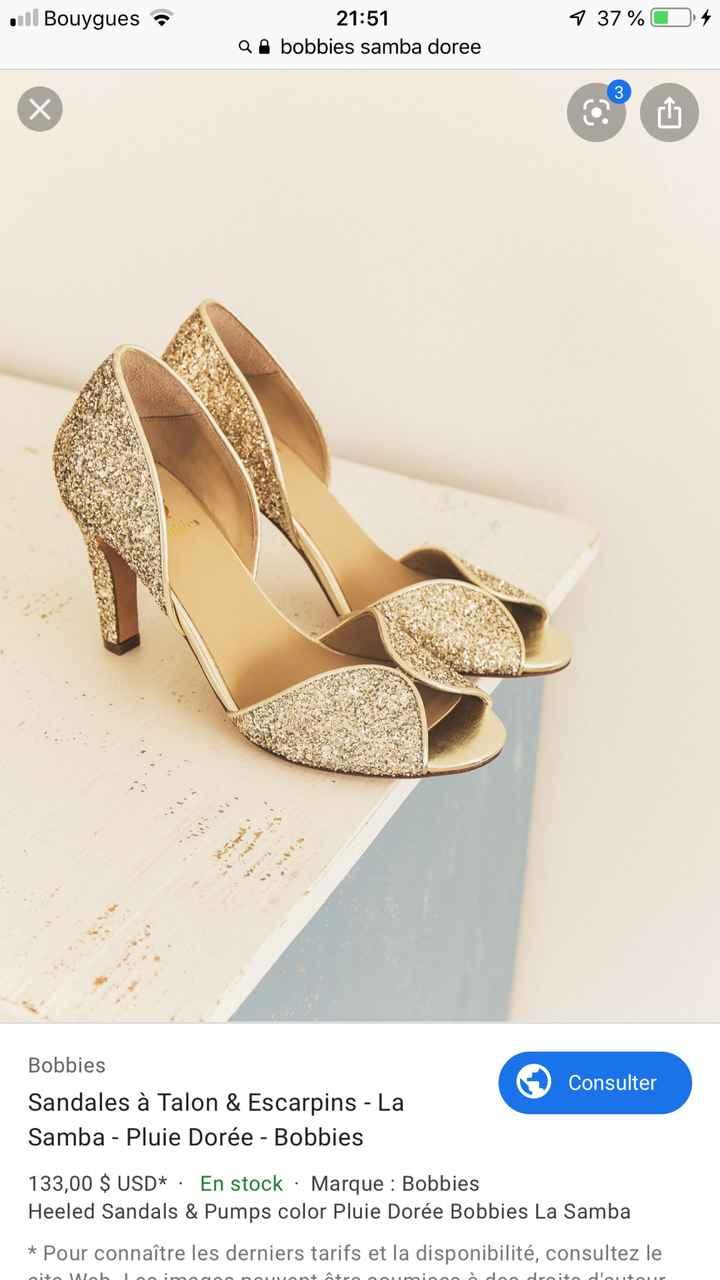 Pas facile les chaussures.. ! - 1