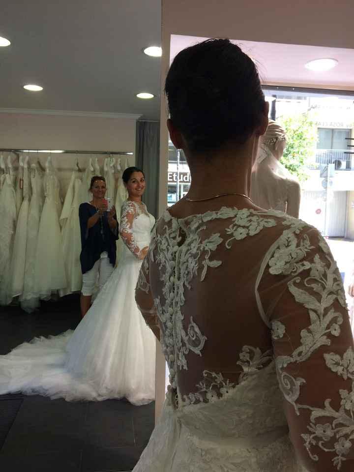 Un an avant... robe choisie!!!!! - 2