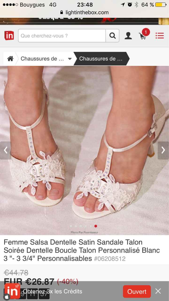 Je crois que j'ai trouvé mes chaussures ! - 1