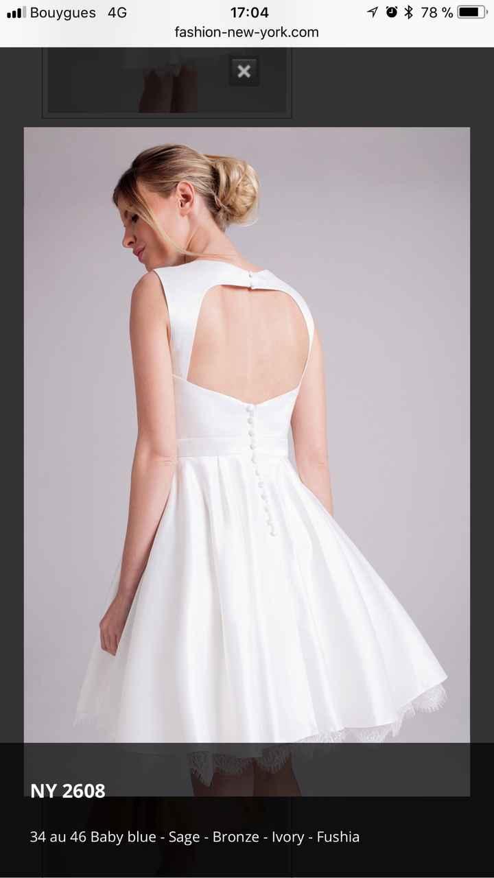 Deuxième robe - 1