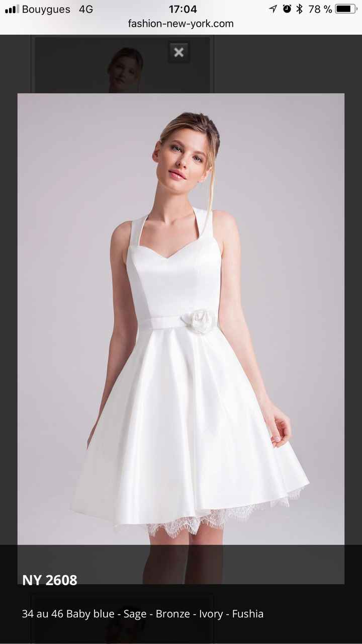 Deuxième robe - 2