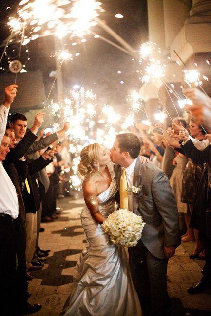 Entrée des mariés dans la salle - 1