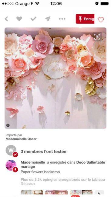 1 Ere Fleur Geante En Papier Check Decoration Forum