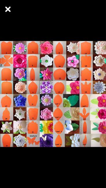 Inspiration fleurs géantes en papier 🌸🌺💕 - 8
