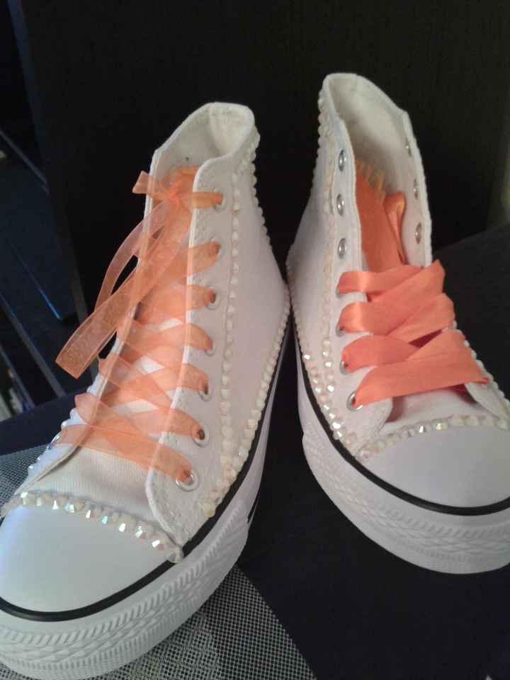 mes chaussures en cours diy