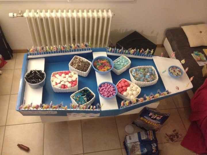 Notre barque à bonbons - 1