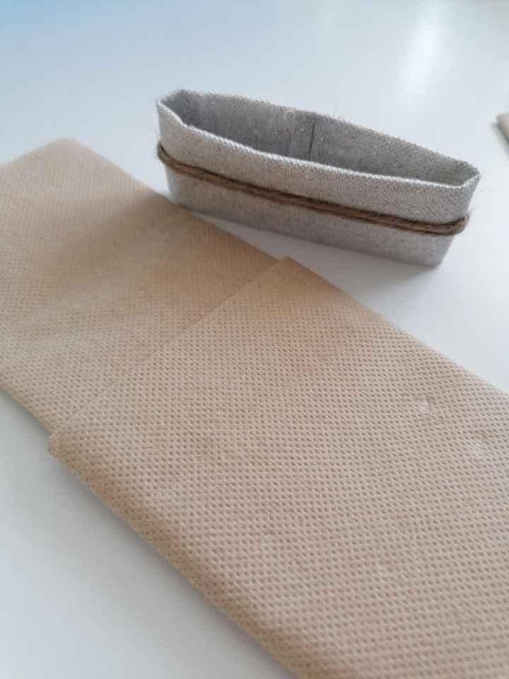 diy ronds/pochettes de serviette en papier - 2