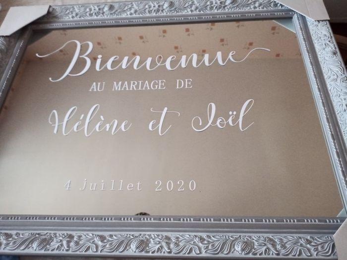 """Panneau """"bienvenue """" 3"""