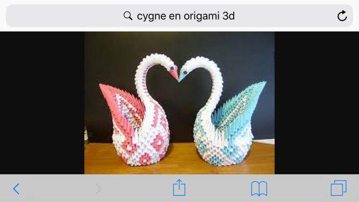 Signe En Origami Décoration Forum Mariagesnet
