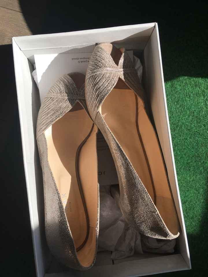 Mes chaussures ❤️ Et problème de voile - 2