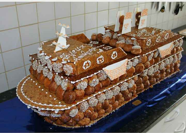 Pièce montée chou ou gâteau ? - 1