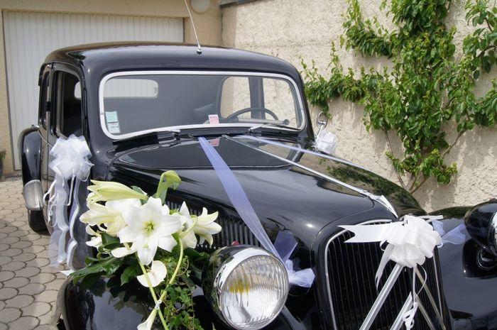 D coration voiture d coration forum - Ventouse pour decoration voiture mariage ...