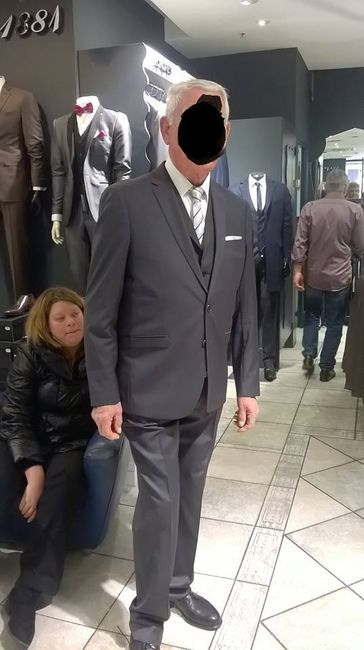 tenue papy