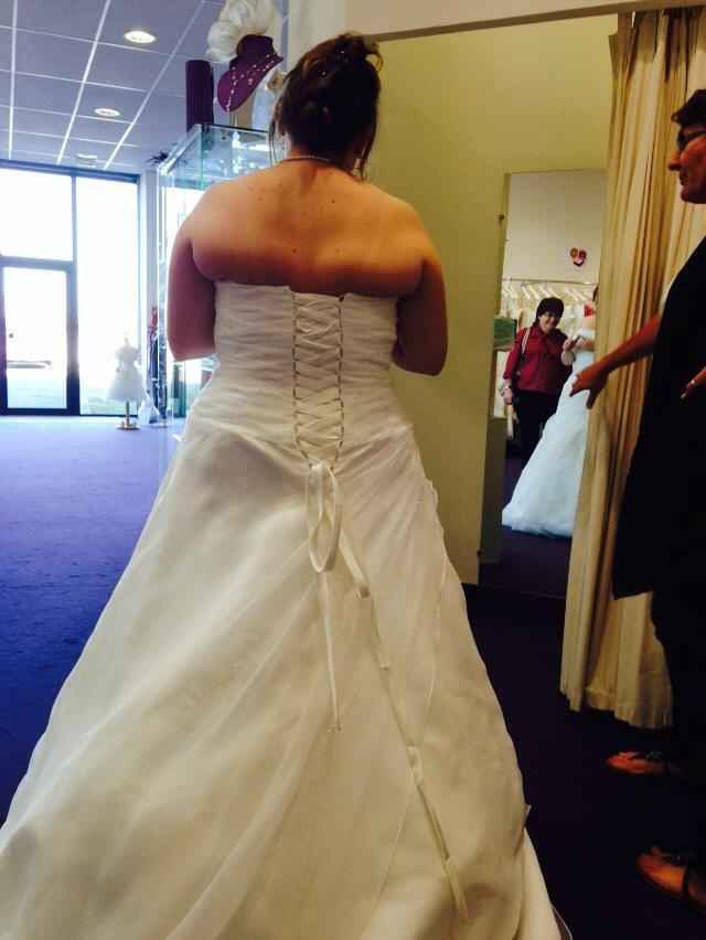 derrière de la robe