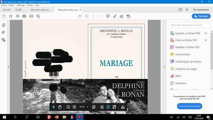 mariage sur le theme de la litterature ou du livre - 1