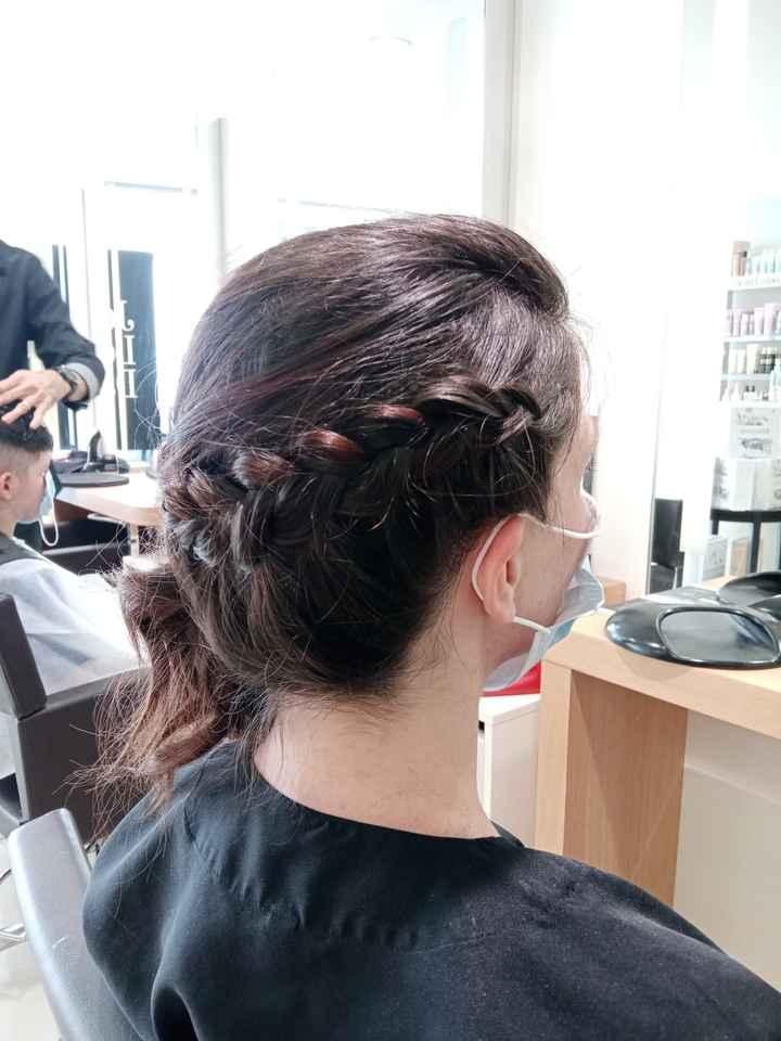 1Er essai coiffure et retouche robe - 1
