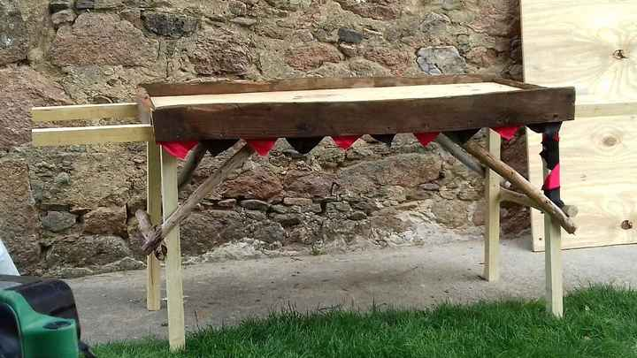Table pour le banquet - 1