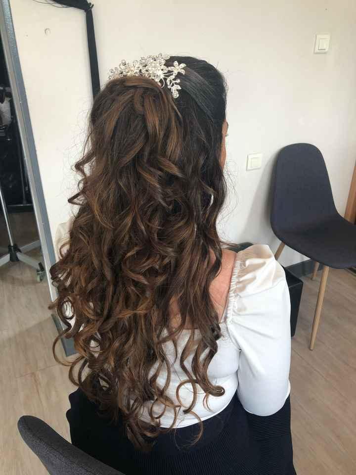 Essaie coiffure et maquillage 💄 👰🏻 - 1