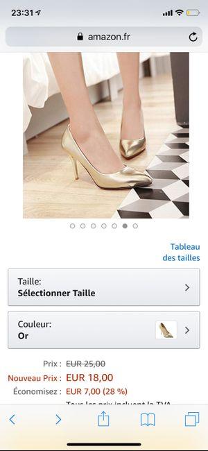 Chaussures de mariée - 1