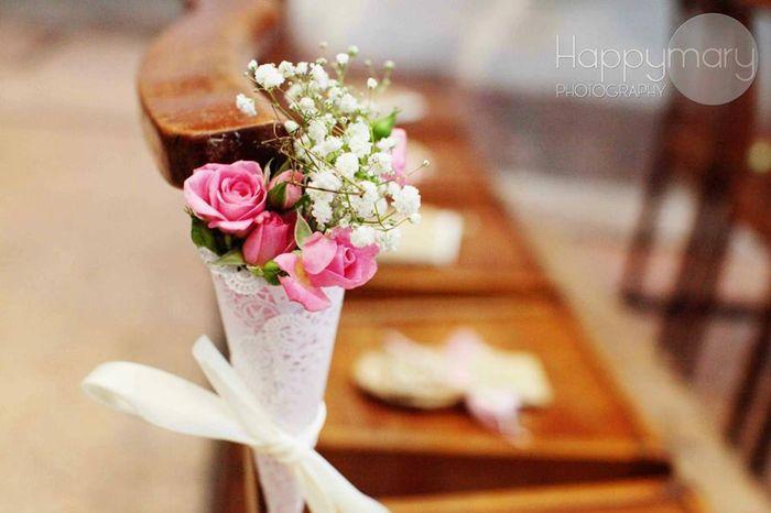 D coration d 39 glise photo c r monie de mariage for Decoration eglise