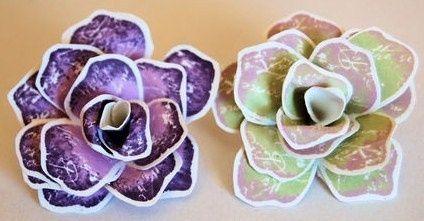 Bouquet de mari d coration forum - Comment faire des fleurs avec des boites a oeufs ...