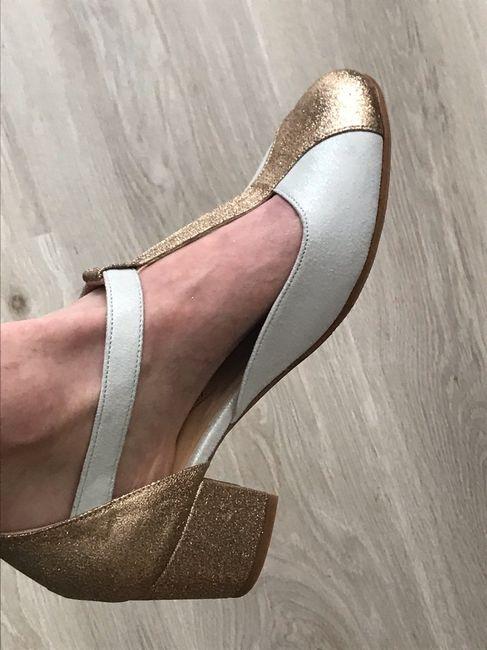 Reçu chaussures de mariée 1