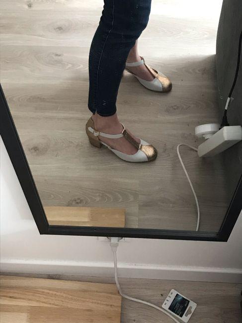 Reçu chaussures de mariée 3