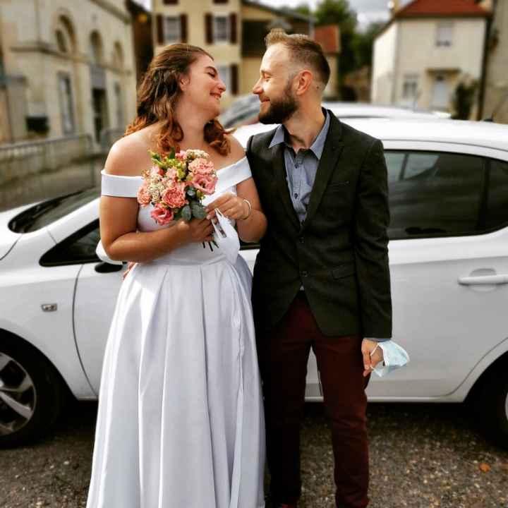 Mariés civilement depuis le 10 - 1
