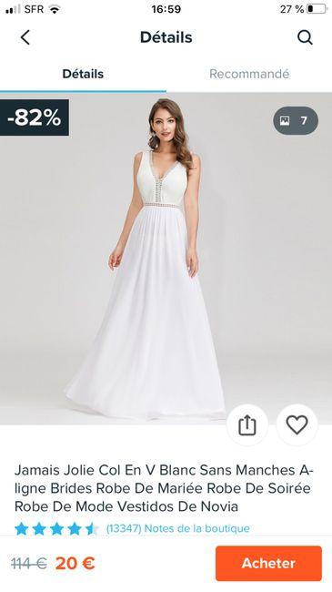 Robe de mariée Bohème (un peu atypique) 13