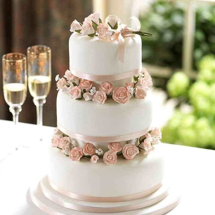 Coucou les brides; montrez moi vos wedding cake - 1