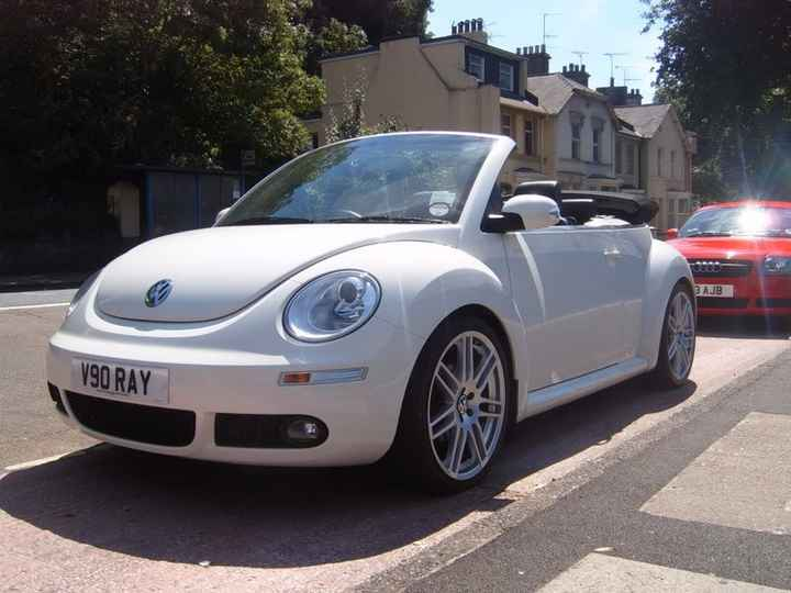 New beatle cabriolet