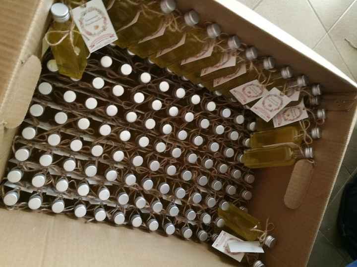 Nos cadeaux invités : liqueur de mandarine - 3