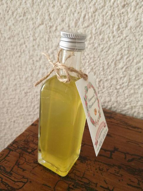 Nos cadeaux invités : liqueur de mandarine - 2