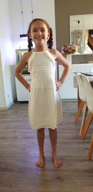 Robe pour ma fille 1