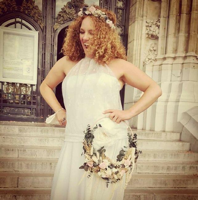 Idées de pose de photo de la mariée seule 8