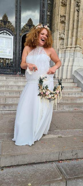 Idées de pose de photo de la mariée seule 10