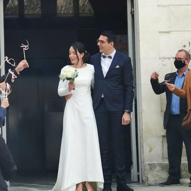 çA y est nous sommes mariés 💍 1