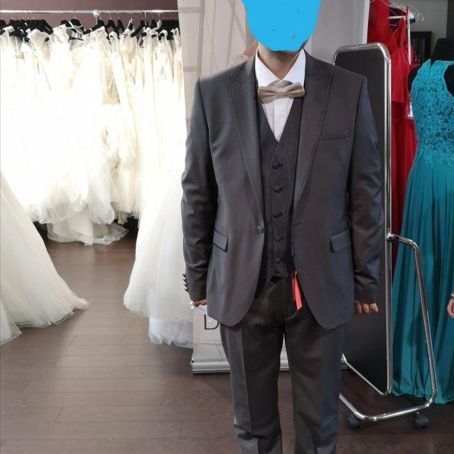 Choix costume de marié 1