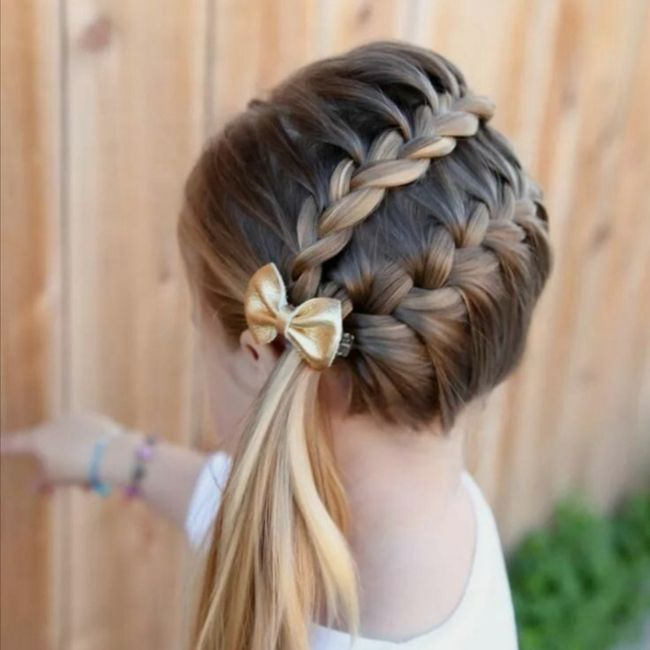 Coiffure fille 1