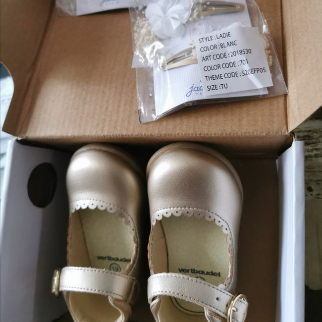 Chaussures filles 1