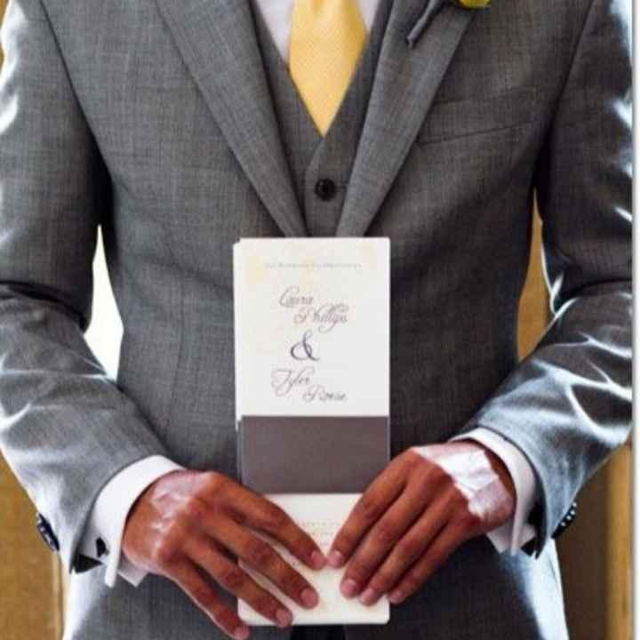 Choix du costume de marié - 1