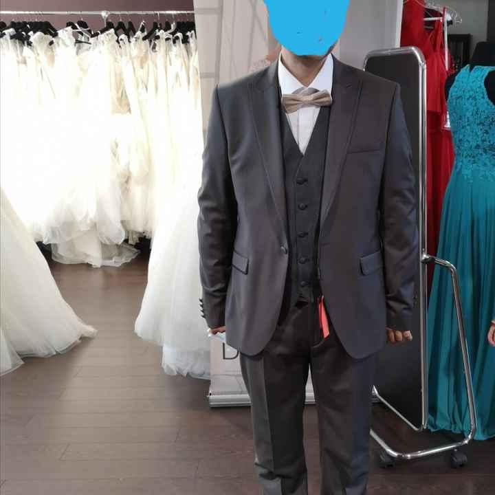Choix costume de marié - 1