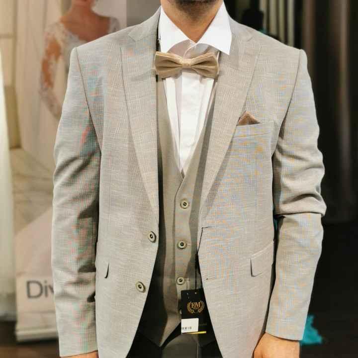 Choix costume de marié - 2