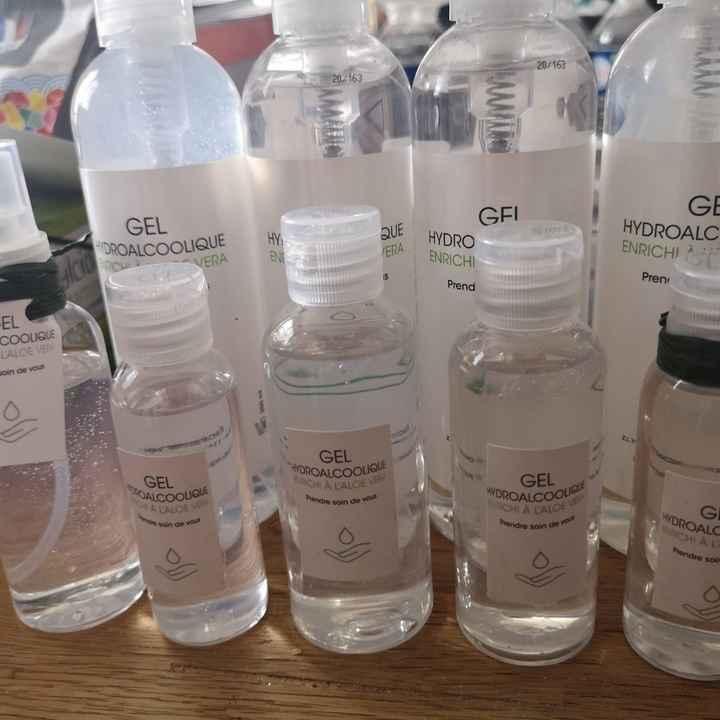 Flacons gel hydroalcoolique - 1