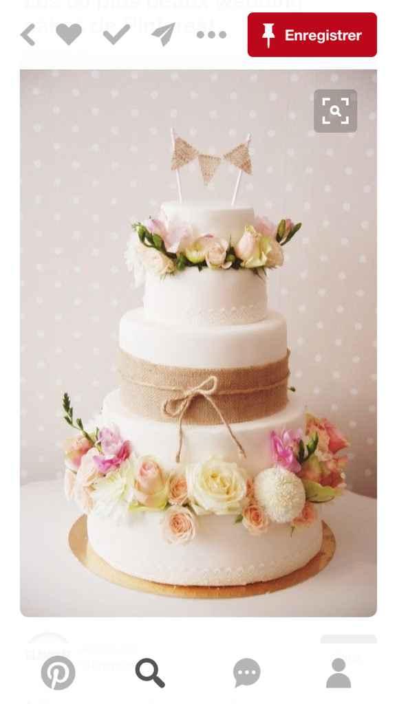 Wedding cake en suspent .. - 1
