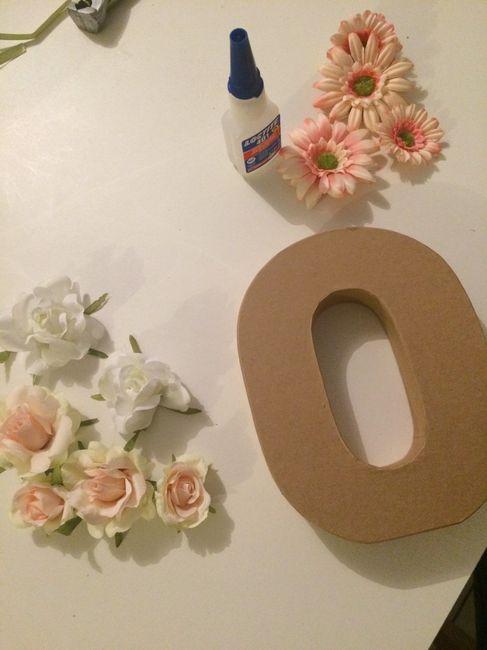 Lettres fleurie - 1