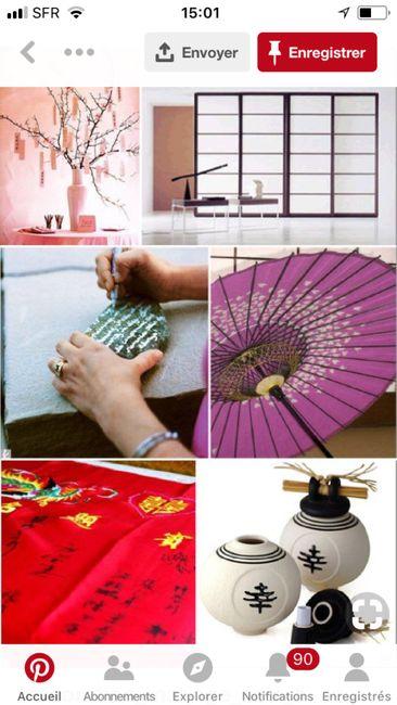 Mariage et décoration Inspiration Japon .... 24